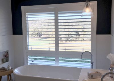 Image of bathroom Shutter paneld