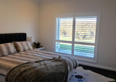 Image of bedroom shutter panels