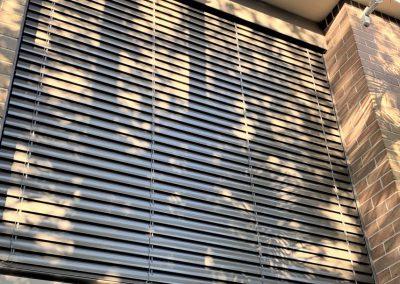 Image of installed external Venetian Blinds